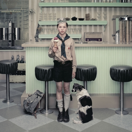 Erwin OLAF - Fotografia - RAIN: The Ice Cream Parlor