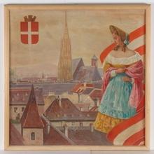 "Josef BRUNNER - Painting - ""Vienna"", Oil Painting"