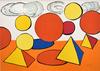 Alexander CALDER - Print-Multiple - Composition V, from The Elementary Memory | La mémoire éléme