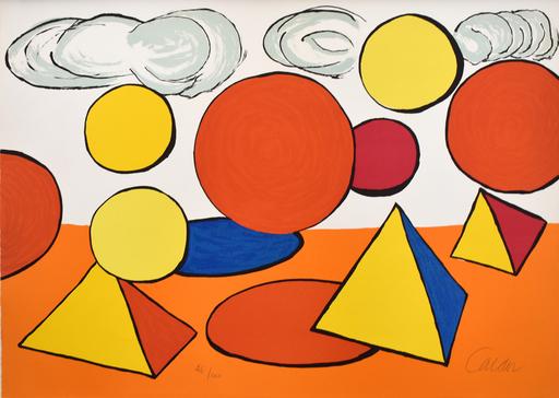 Alexander CALDER - Estampe-Multiple - Composition V, from The Elementary Memory | La mémoire éléme