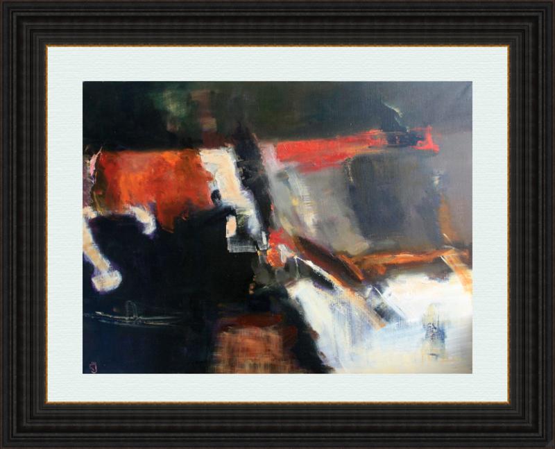 Levan URUSHADZE - Gemälde - Composition # 50