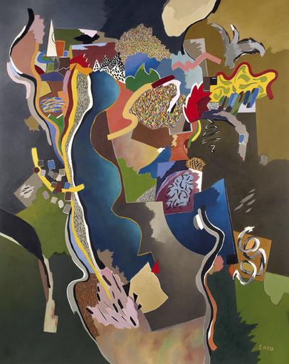 Daniel François CAYO - Peinture - Flore