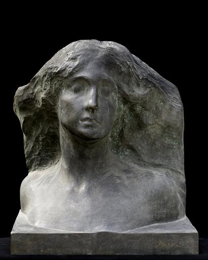 Leonardo BISTOLFI - Skulptur Volumen - Testa d'Alpe