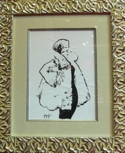 Manolo RUIZ PIPO - Pintura - Elégante