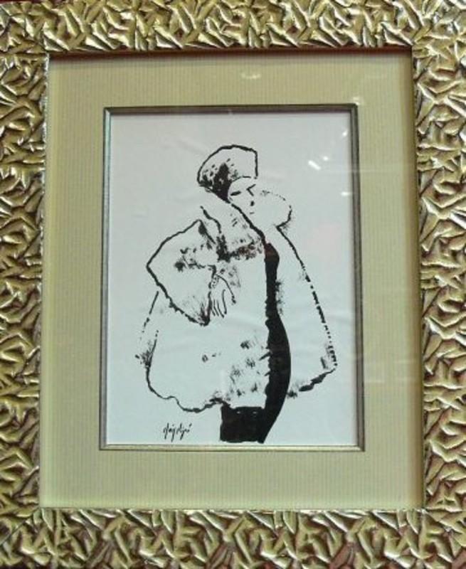 Manolo RUIZ PIPO - Peinture - Elégante