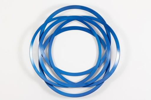 Shayne DARK - Sculpture-Volume - Erratic Colour Candy Blue