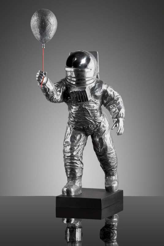 Stéphane CIPRE - Escultura - Major Tom, 2015