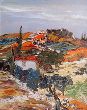 Jean SARDI - Peinture - Le Mas