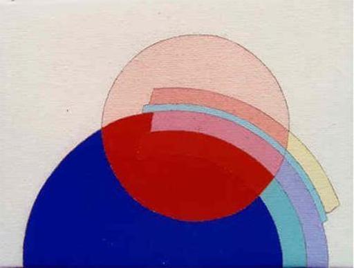 Eugenio CARMI - Peinture - RICORDANDO