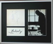 Pierre ALECHINSKY - Dessin-Aquarelle - « Portrait »