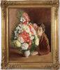 André HAMBOURG - Painting - Le bouquet indigène