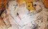 Christian BERNARD - Painting - Couple pluriel