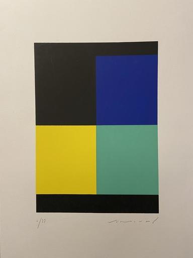 Aurélie NEMOURS - Druckgrafik-Multiple - Angle noire