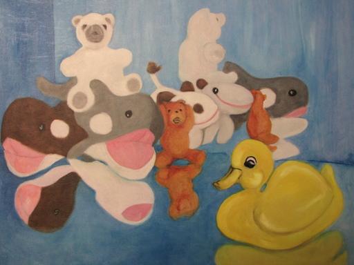 Igor KUBALEK - Peinture - We don't want want another Hero