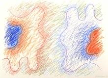 沃谢奇·法戈尔 - 水彩作品 - Colourful Composition