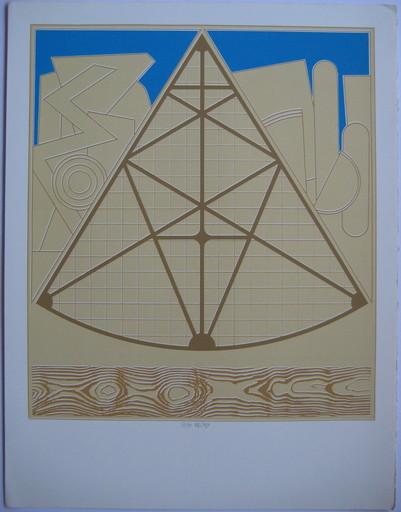 Lucio DEL PEZZO - Print-Multiple - SÉRIGRAPHIE SIGNÉE CRAYON NUM/90 HANDSIGNED NUMB SILKSCREEN