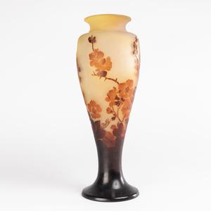 Émile GALLÉ - Emile Gallé (1846-1904), vase aux cerisiers, XIXe