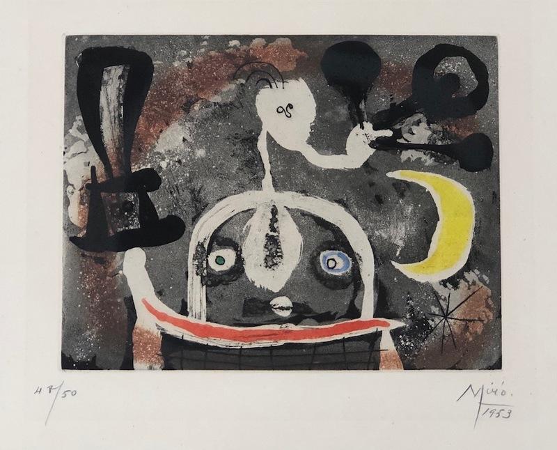 Joan MIRO - Print-Multiple - Serie III