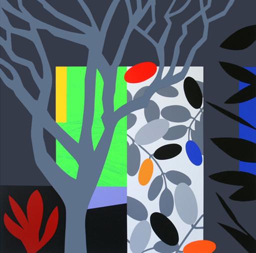 Bruce MCLEAN - Print-Multiple - Dark Garden