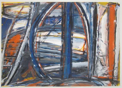 Fernand SCHMUTZ-LARSSON - Drawing-Watercolor - Ohne Titel