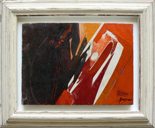 Piero RUGGERI - Pintura - Nel paesaggio NF174