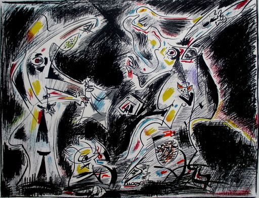 André MASSON - Estampe-Multiple