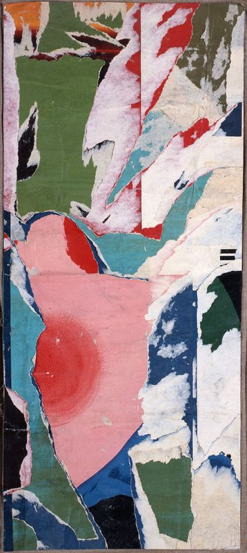 Jacques VILLEGLÉ - Pintura - Impasse Pasquet