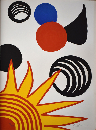 Alexander CALDER - Print-Multiple - Composition XII, from The Elementary Memory