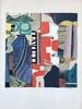 Max PAPART - Estampe-Multiple - Composition cubiste