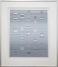 Victor VASARELY - Estampe-Multiple - Silberfrequenz
