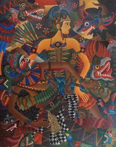 KUSBUDIYANTO - Painting - Gandrung