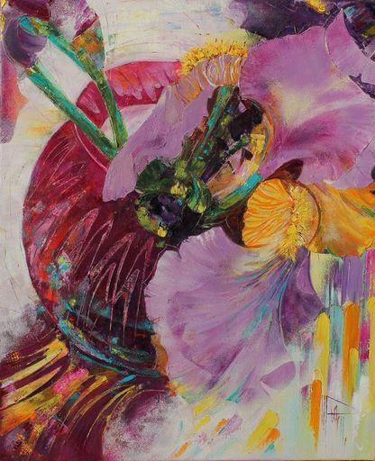 Nadine PILLON - Painting - Dessus le ciel