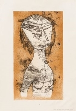 Paul KLEE - Grafik Multiple - Die Heilige vom innern Licht, from 'Bauhaus-Drucke. Neue eur