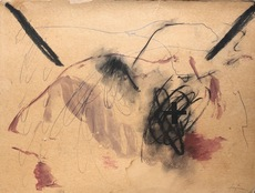Antoni TAPIES - Peinture - Untitled