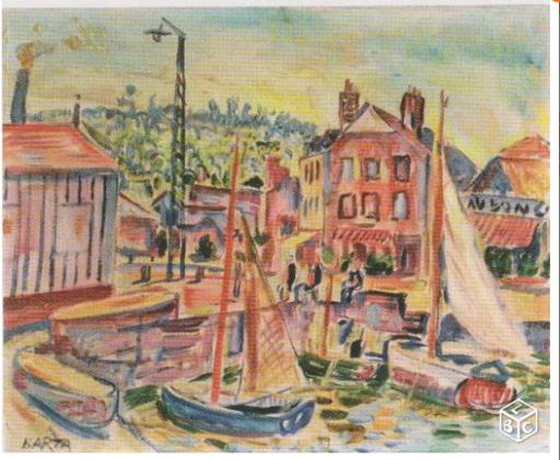 Laszlo BARTA - Gemälde - le port