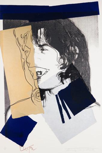 Andy WARHOL - Print-Multiple - Mick Jagger F&S II.142