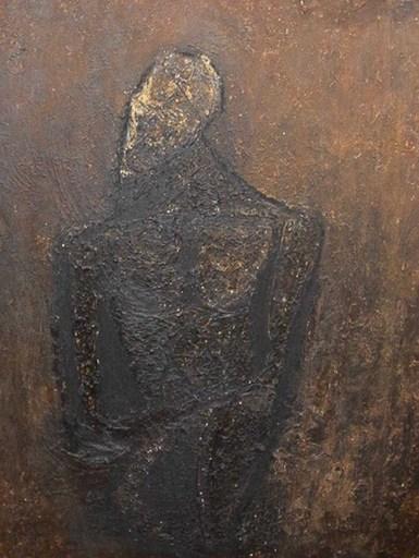 Adriano NICOT - Painting - Autoretrato