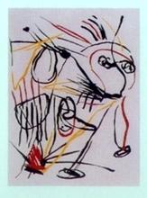 卡尔-阿佩尔 - 版画 - como el viento