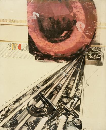 Gianni BERTINI - Peinture - La vie va