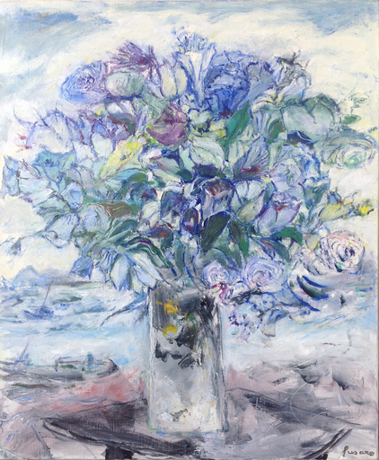 Jean FUSARO - 绘画 - Jackie's Flowers