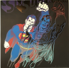 Andy WARHOL - Estampe-Multiple - Superman from Myths F&S II.260