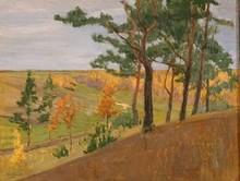 Nikolai Petrovich KRIMOV (1884-1958) - Autumn