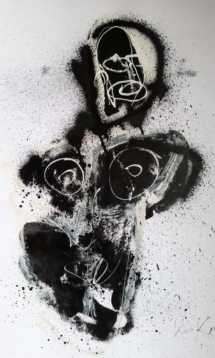 KOKIAN - Dessin-Aquarelle - Black Chola