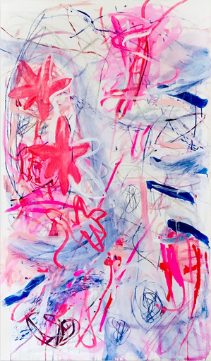 Macha POYNDER - Painting - We are all phoenixes even if we don't know it (Abstract Expr
