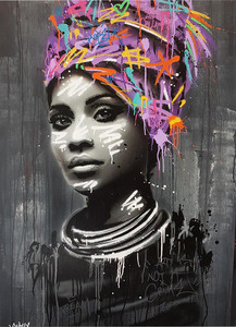 SEATY - Gemälde - Niamey #8