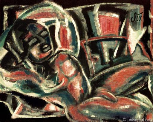 Jacqueline DITT - Painting - Latin Lover