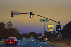 Joan LONGAS - Painting - I could drive all night
