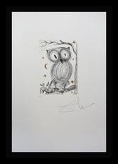 Salvador DALI - Print-Multiple - La Petite Chouette