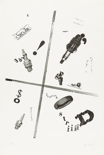 Rodolfo VITONE - Druckgrafik-Multiple - No title