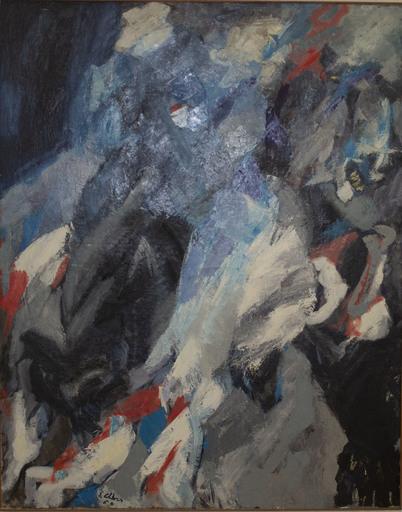 Ennio CALABRIA - Painting - Senza titolo